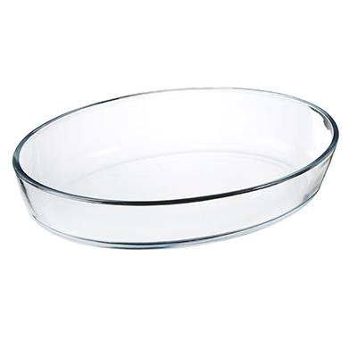 SATOSHI Формы для запекания жаропрочная овальная, стекло, 30х21х6см, 2л