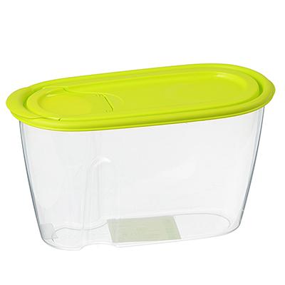 Емкость для сыпучих продуктов 0,9л, пластик