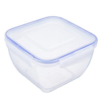 VETTA Контейнер для СВЧ пластик, квадратный с защелками, 1,5л
