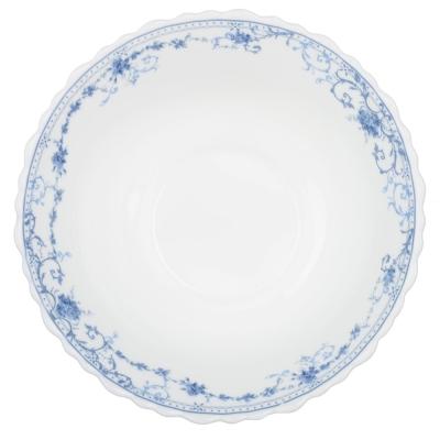 MILLIMI Ариадна Салатник опаловое стекло 15см, 17099B