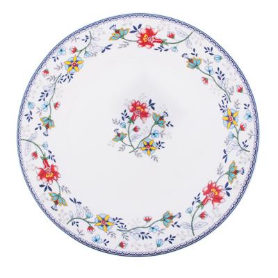 MILLIMI Виола Тарелка десертная опаловое стекло 20см, 21001