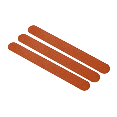 ЮниLook Набор пилок наждачных 2-х сторонних для ногтей 240/240 грит 3 шт, щепа, 17,8см