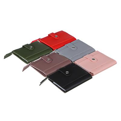ЮL Кошелек с отделениями для карт, ПВХ, 11х9см, 6 цветов, КК21-02