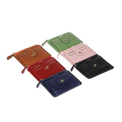 ЮL Кошелек с отделениями для карт, ПУ, 12х9см, 6 цветов, КК21-04