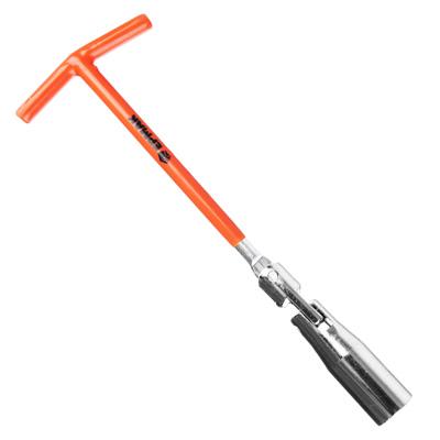 ЕРМАК Ключ свечной, с карданным шарниром, 16 мм, матовый усиленный TP005