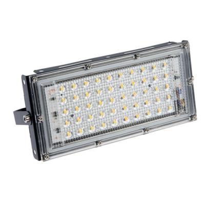 Прожектор светодиодный модульный Luazon Lighting M-02B 50Вт, IP65, 4500Лм, 3000К,220В Черный