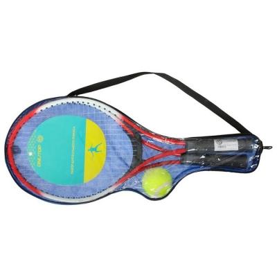 Ракетки для большого тенниса с мячом, детские, цвет красный