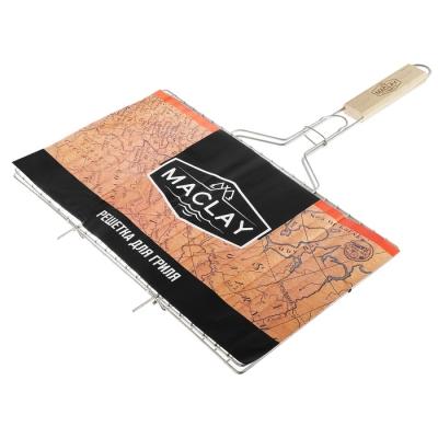 Решётка-гриль для мяса Maclay, нержавеющая сталь, размер 42 × 25 см
