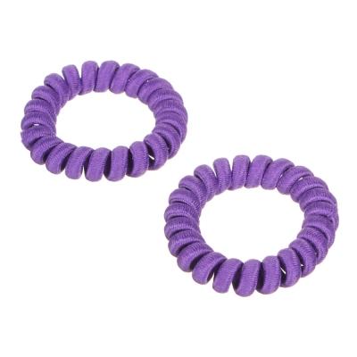 BERIOTTI Набор резинок-спиралек, 2шт, 5,5см, пластик, 6 цветов