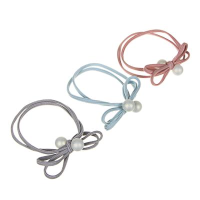 BERIOTTI Резинка для волос с декором d7см, пластик, полиэстер, 2-3 цвета, арт.42