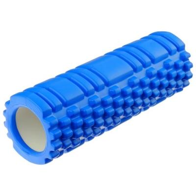 Роллер для йоги 30 х 10 см, массажный, цвет синий