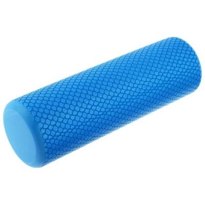 Роллер для йоги 30 х 9 см, массажный, цвет синий