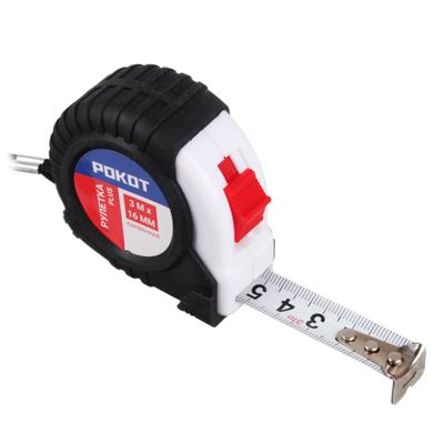 FALCO Рулетка карманная PLUS, 3мх16мм
