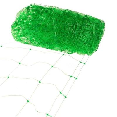 Сетка садовая, мягкая, 2 × 15 м, ячейка 15 × 17 см, зелёная