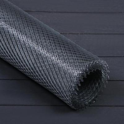Сетка оцинкованная ЦПВС, мягкая, 1 × 10 м, ячейка 8 × 8 мм, d = 0,5 мм, металл