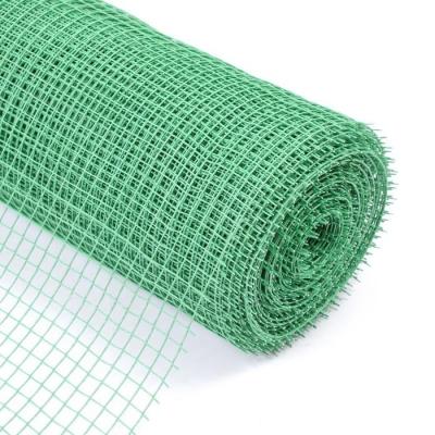 Сетка садовая, 1 × 20 м, ячейка 1.5 × 1.5 см, зелёная, Greengo