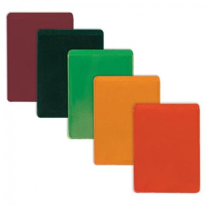 Обложка-карман для проездных документов, карт, пропусков, 92х69 мм, ПВХ, цвет ассорти, ДПС, 1351.300