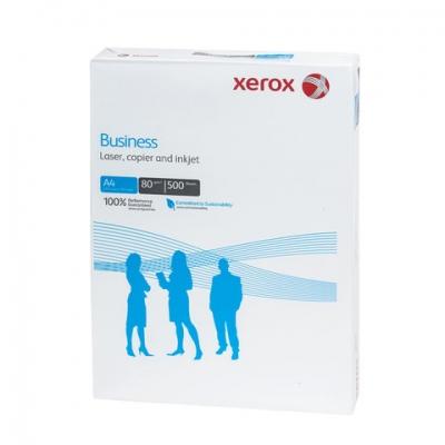Бумага офисная XEROX BUSINESS, А4, 80 г/м2, 500 л., марка В, Финляндия, белизна 164%, 003R91820