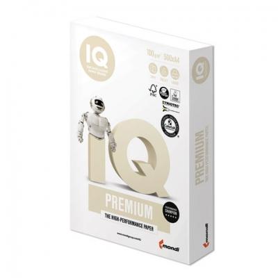 """Бумага IQ PREMIUM, А4, 100 г/м2, 500 л., класс """"А"""", Австрия, белизна 170% (CIE)"""