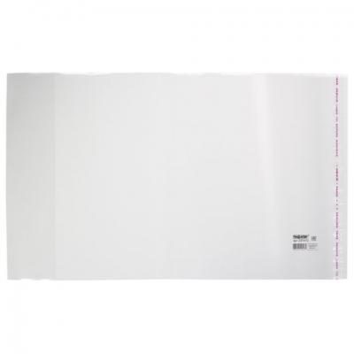 Обложка ПП для учебников старших классов ПИФАГОР, универсальная, клейкий край, 70 мкм, 230х380 мм, 227412