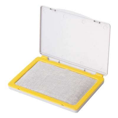 Штемпельная подушка BRAUBERG, 100х80 мм (рабочая поверхность 90х50 мм), неокрашенная, 236871