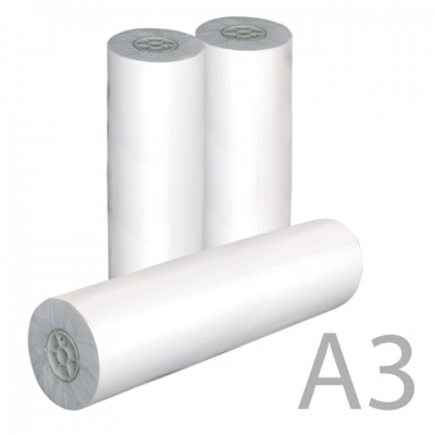 Рулон для плоттера, 297 мм х 175 м х втулка 76 мм, 80 г/м2, белизна CIE 162%, диаметр 170 мм, STARLESS, 297x76x175 0350