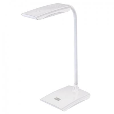 Светильник настольный SONNEN TL-LED-004-7W-12, на подставке, светодиодный, 7 Вт, 12 LED, белый, 235541