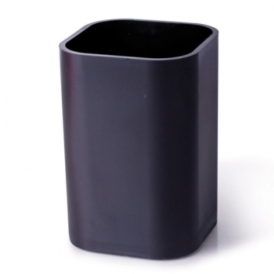Подставка-органайзер (стакан для ручек), черный, 22037