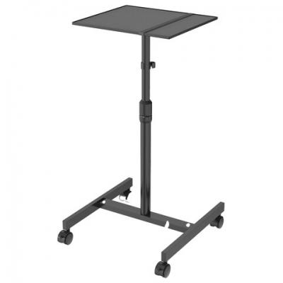 Стол для проектора CACTUS (100х37х42 см), регулировка высоты и наклона, CS-VM-PT01