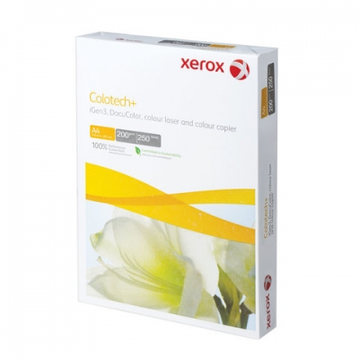 Бумага XEROX COLOTECH PLUS, А4, 200 г/м2, 250 л., для полноцветной лазерной печати, А++, Австрия, 170% (CIE), 003R97967