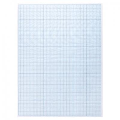 Бумага масштабно-координатная (миллиметровая), планшет А3, голубая, 20 листов, 80 г/м2, STAFF, 113491