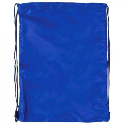 Сумка для обуви BRAUBERG, прочная, на шнурке, синяя, 42x33 см, 227140