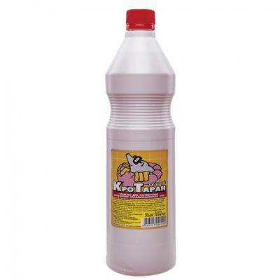 Средство для прочистки канализационных труб 1 л, КРОТАРАН, розовый, СМ-2330