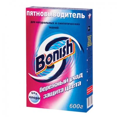 """Средство для удаления пятен 600 г, BONISH (Бониш) """"Бережный уход и защита цвета"""", без хлора"""