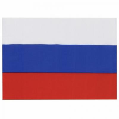 Флаг России 90х135 см, без герба, BRAUBERG, 550177, RU01