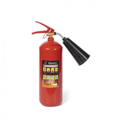Огнетушитель углекислотный ОУ-3, ВСЕ (жидкие, газообразные вещества, электроустановки), закачной, ЯРПОЖ, 2 места, 46