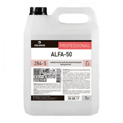 Средство моющее универсальное 5 л, PRO-BRITE ALFA-50, кислотное, пенное, концентрат, 284-5