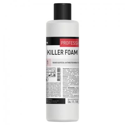 Пеногаситель-антивспениватель 1 л, PRO-BRITE KILLER FOAM, концентрат, 096-1