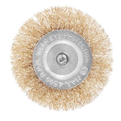 ЕРМАК Набор щеток металл со шпильками 6 пр (40,50,65,75,100мм -пл.,50мм-чашка)