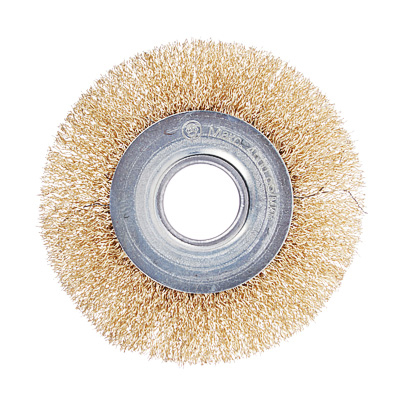 ЕРМАК Щетка металл. для УШМ 100мм/22мм, плоская