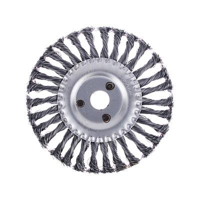 ЕРМАК Щетка металл. для УШМ175мм/22мм, крученая, дисковая