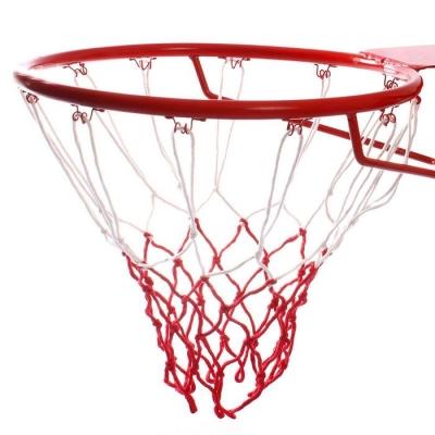 Сетка баскетбольная, двухцветная, нить 3,2 мм, (2 шт)