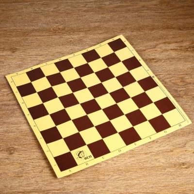 Шахматное поле из микрогофры, 40 × 40 см