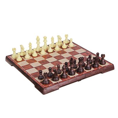 LDGames Набор игр 2 в 1 (шахматы, шашки) 31,5х32см, пластик