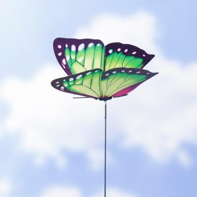 """Штекер садовый, декоративный """"Бабочка"""" 12×9см, 30см"""