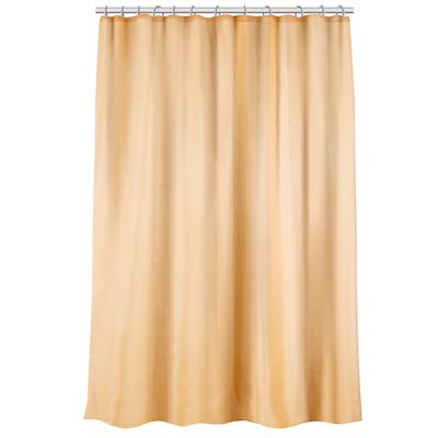 VETTA Шторка для ванной, ткань полиэстер однотонная бежевая 180x180см