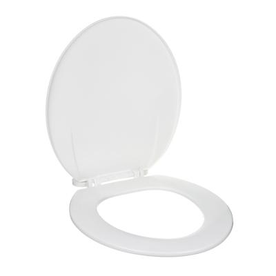 Сиденье для унитаза, пластик, 41x35,5см, белое