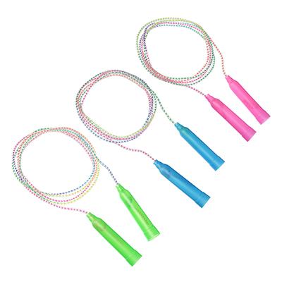 SILAPRO Скакалка, пластик, ПВХ, 2,3м х 4,3мм, 4 цвета