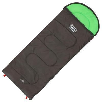 Спальник 2-слойный, L одеяло+подголовник 185 x 70 см, camping comfort summer, таффета/таффета, +15°C