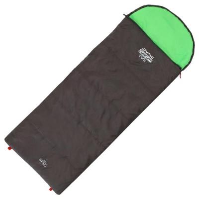 Спальник 3-слойный, L одеяло+подголовник 185 x 70 см, camping comfort cool, таффета/таффета, -10°C